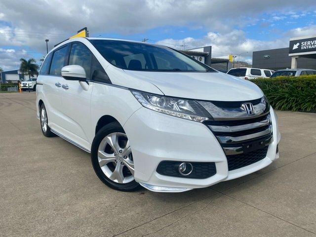 Used Honda Odyssey RC MY18 VTi Townsville, 2018 Honda Odyssey RC MY18 VTi White/171218 7 Speed Constant Variable Wagon