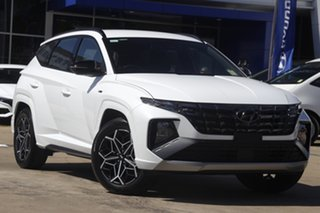 2021 Hyundai Tucson White Cream.