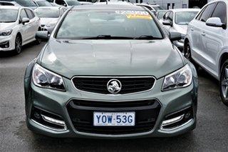 2015 Holden Commodore VF MY15 SV6 Storm Grey 6 Speed Sports Automatic Sedan.