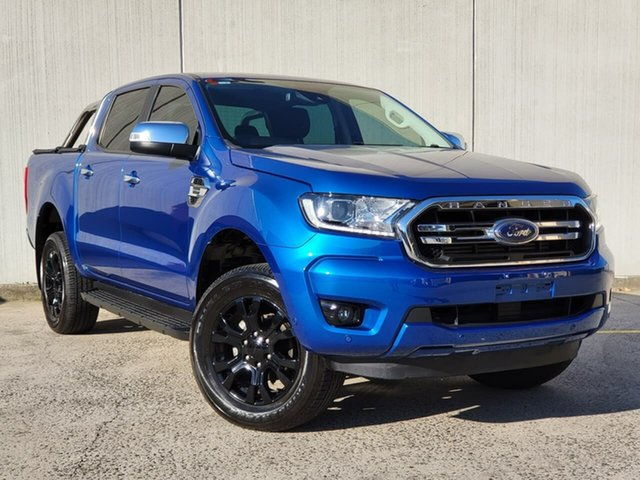 Used Ford Ranger PX MkIII 2020.25MY XLT Oakleigh, 2020 Ford Ranger PX MkIII 2020.25MY XLT Blue 6 Speed Sports Automatic Double Cab Pick Up