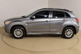 2011 Mitsubishi ASX XA MY11 2WD Grey 6 Speed Constant Variable Wagon