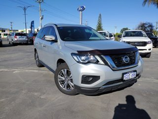 2019 Nissan Pathfinder R52 Series III MY19 ST X-tronic 2WD Silver 1 Speed Constant Variable Wagon.