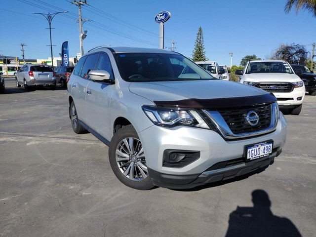 Used Nissan Pathfinder R52 Series III MY19 ST X-tronic 2WD Morley, 2019 Nissan Pathfinder R52 Series III MY19 ST X-tronic 2WD Silver 1 Speed Constant Variable Wagon