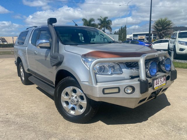 Used Holden Colorado RG MY13 LTZ Space Cab Townsville, 2012 Holden Colorado RG MY13 LTZ Space Cab Silver/160512 6 Speed Sports Automatic Utility
