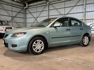2004 Mazda 3 BK10F1 Maxx Sport Green 4 Speed Sports Automatic Sedan.