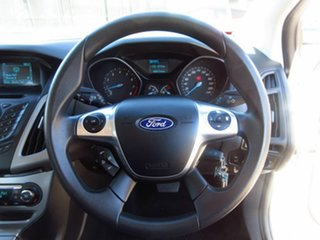 2015 Ford Focus LW MK2 MY14 Trend White 6 Speed Automatic Hatchback