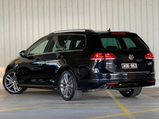 2017 Volkswagen Golf VII MY17 110TSI DSG Highline Black 7 Speed Sports Automatic Dual Clutch Wagon.