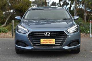 2017 Hyundai i40 VF4 Series II Active Tourer D-CT Blue 7 Speed Sports Automatic Dual Clutch Wagon.