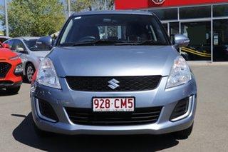 2014 Suzuki Swift FZ MY14 GL Blue 5 Speed Manual Hatchback.