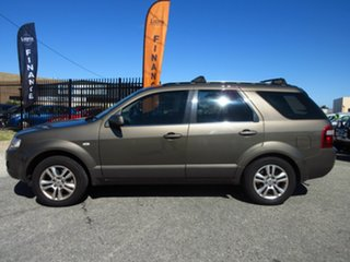 2010 Ford Territory SY MkII TS (RWD) Gold 4 Speed Auto Seq Sportshift Wagon.
