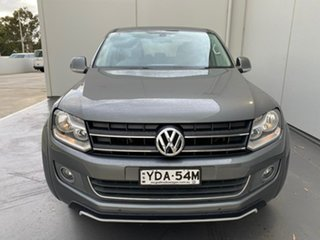 2015 Volkswagen Amarok 2H MY15 TDI420 4Motion Perm Highline Grey 8 Speed Automatic Utility.