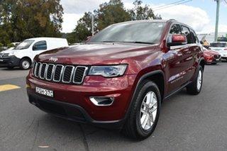 2017 Jeep Grand Cherokee WK MY17 Laredo Velvet Red 8 Speed Sports Automatic Wagon
