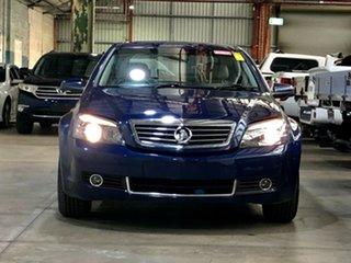 2006 Holden Statesman WM Blue 5 Speed Sports Automatic Sedan.