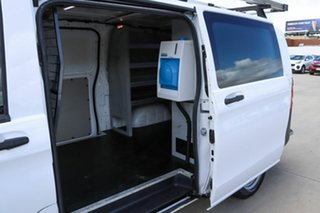 2015 Mercedes-Benz Vito 447 114BlueTEC LWB 7G-Tronic + White 7 Speed Sports Automatic Van.
