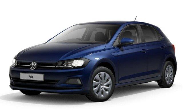 New Volkswagen Polo AW MY21 70TSI DSG Trendline Port Melbourne, 2021 Volkswagen Polo AW MY21 70TSI DSG Trendline Blue 7 Speed Sports Automatic Dual Clutch Hatchback