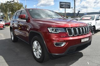 2017 Jeep Grand Cherokee WK MY17 Laredo Velvet Red 8 Speed Sports Automatic Wagon.