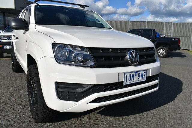 Used Volkswagen Amarok 2H MY18 TDI420 4MOTION Perm Core Wantirna South, 2018 Volkswagen Amarok 2H MY18 TDI420 4MOTION Perm Core White 8 Speed Automatic Utility