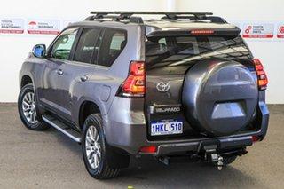 2018 Toyota Landcruiser Prado GDJ150R MY17 VX (4x4) Graphite 6 Speed Automatic Wagon.