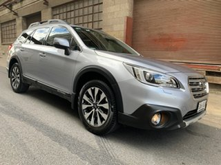 2015 Subaru Outback B6A MY16 2.5i CVT AWD Premium Silver 6 Speed Constant Variable Wagon.