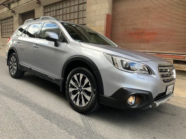 Used Subaru Outback B6A MY16 2.5i CVT AWD Premium Cheltenham, 2015 Subaru Outback B6A MY16 2.5i CVT AWD Premium Silver 6 Speed Constant Variable Wagon
