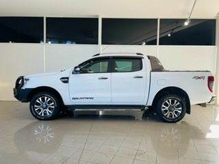 2017 Ford Ranger PX MkII 2018.00MY Wildtrak Double Cab White 6 Speed Sports Automatic Utility