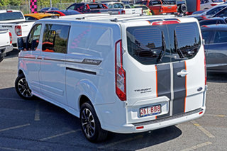 2020 Ford Transit Custom 320L (Low Roof) Sport White 6 Speed Automatic Double Cab Van.