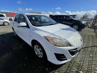 2009 Mazda 3 BL Neo White 6 Speed Manual Hatchback.