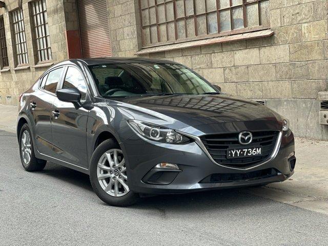 Used Mazda 3 BM5278 Maxx SKYACTIV-Drive Cheltenham, 2013 Mazda 3 BM5278 Maxx SKYACTIV-Drive Grey 6 Speed Sports Automatic Sedan