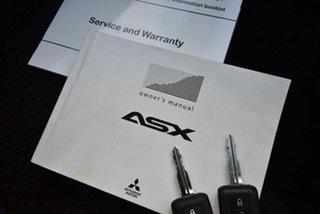 2018 Mitsubishi ASX XC MY19 ES 2WD ADAS Silver 1 Speed Constant Variable Wagon