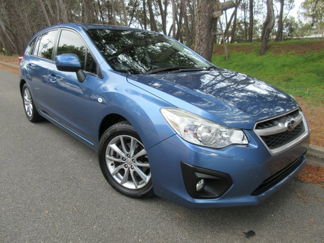 Used Subaru Impreza G4 MY14 2.0i Lineartronic AWD Reynella, 2015 Subaru Impreza G4 MY14 2.0i Lineartronic AWD Blue 6 Speed Constant Variable Hatchback