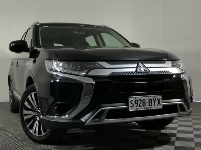 Used Mitsubishi Outlander ZL MY19 ES 2WD Wayville, 2018 Mitsubishi Outlander ZL MY19 ES 2WD Black 6 Speed Constant Variable Wagon