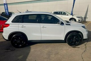 2017 Suzuki Vitara LY S Turbo 4WD White 6 Speed Sports Automatic Wagon.