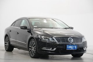 2014 Volkswagen CC Type 3CC MY15 130TDI DSG Black 6 Speed Sports Automatic Dual Clutch Coupe