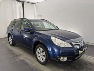 2010 Subaru Outback B5A MY10 2.5i Lineartronic AWD Blue 6 Speed Constant Variable Wagon.