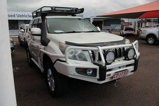 2010 Toyota Landcruiser Prado KDJ150R Kakadu Crystal Pearl 5 Speed Sports Automatic Wagon.