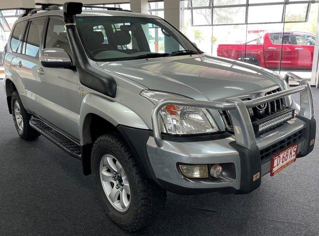 Used Toyota Landcruiser Prado KDJ120R GXL Winnellie, 2006 Toyota Landcruiser Prado KDJ120R GXL Silver 5 Speed Automatic Wagon