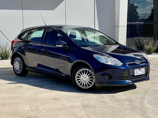2012 Ford Focus LW MkII Ambiente PwrShift Blue 6 Speed Sports Automatic Dual Clutch Hatchback.