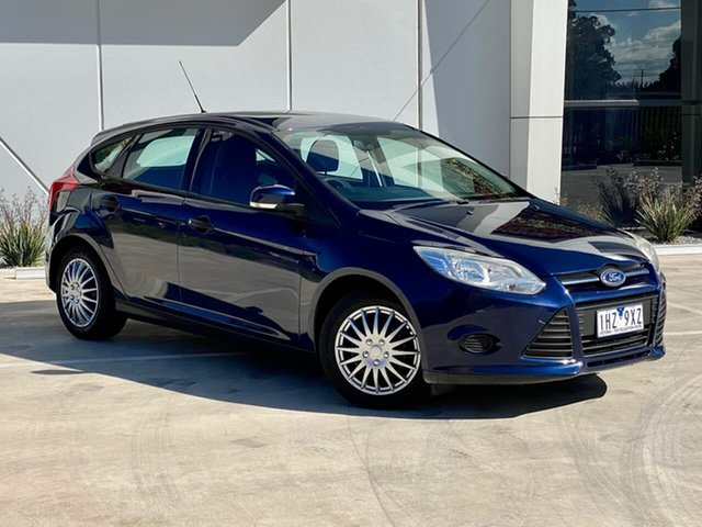 Used Ford Focus LW MkII Ambiente PwrShift Thomastown, 2012 Ford Focus LW MkII Ambiente PwrShift Blue 6 Speed Sports Automatic Dual Clutch Hatchback