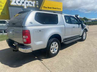 2012 Holden Colorado RG MY13 LTZ Space Cab Silver/160512 6 Speed Sports Automatic Utility.