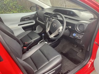 2014 Toyota Prius c NHP10R i-Tech E-CVT Red 1 Speed Constant Variable Hatchback Hybrid