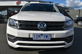 2018 Volkswagen Amarok 2H MY18 TDI420 4MOTION Perm Core White 8 Speed Automatic Utility