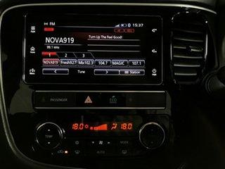 2018 Mitsubishi Outlander ZL MY19 ES 2WD Black 6 Speed Constant Variable Wagon