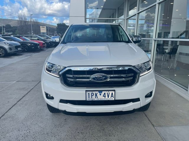 Used Ford Ranger PX MkIII 2019.00MY XLT Hi-Rider Ferntree Gully, 2019 Ford Ranger PX MkIII 2019.00MY XLT Hi-Rider White 10 Speed Sports Automatic Double Cab Pick Up