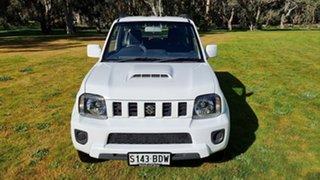 2015 Suzuki Jimny SN413 T6 Sierra White 5 Speed Manual Hardtop.