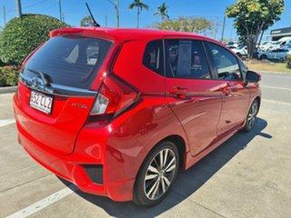 2016 Honda Jazz GF MY16 VTi-S Red 1 Speed Constant Variable Hatchback