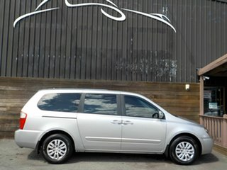 2012 Kia Grand Carnival VQ MY12 S Silver 6 Speed Sports Automatic Wagon.