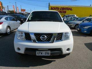 2007 Nissan Pathfinder R51 MY07 ST (4x4) White 5 Speed Automatic Wagon.