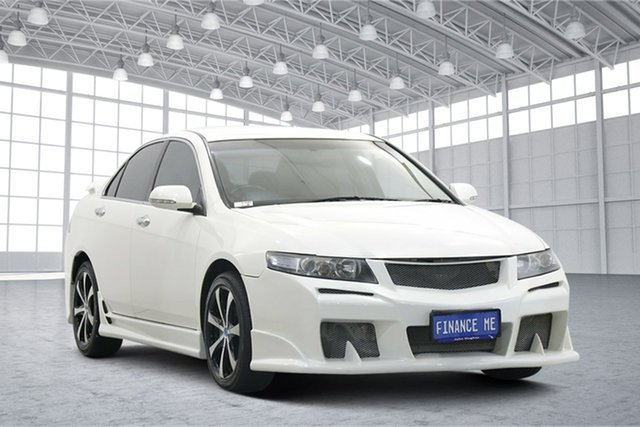 Used Honda Accord Euro CL MY2007 Limited Edition Victoria Park, 2007 Honda Accord Euro CL MY2007 Limited Edition White 5 Speed Automatic Sedan