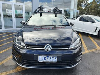 2017 Volkswagen Golf VII MY17 110TSI DSG Highline Black 7 Speed Sports Automatic Dual Clutch.