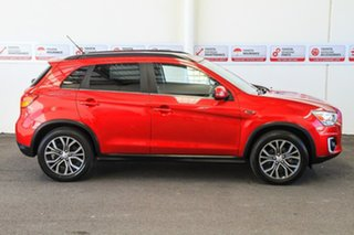 2015 Mitsubishi ASX XB MY15 LS (2WD) Red Continuous Variable Wagon